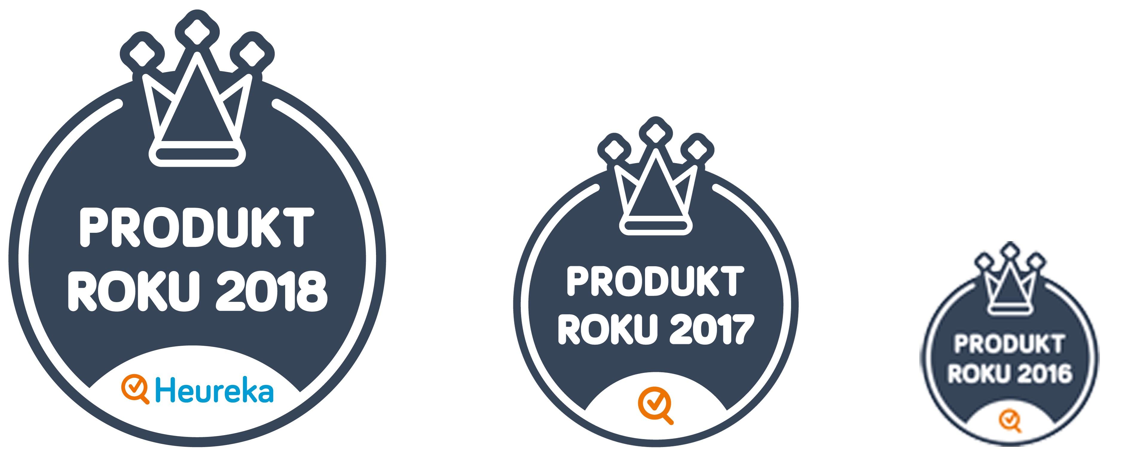 Produkt roku 2018, 2017,2016