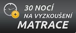 30 nocí na vyzkoušení matrace, ketyban.cz