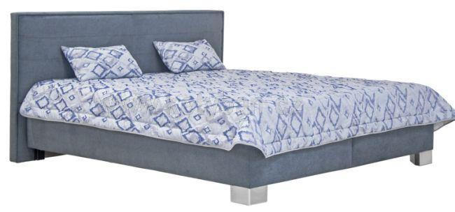 7051aa6da0a5 Elegantní čalouněná postel Oliver