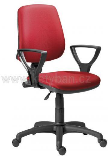 Kancelářská židle Atheam umožňuje nastavení opěráku