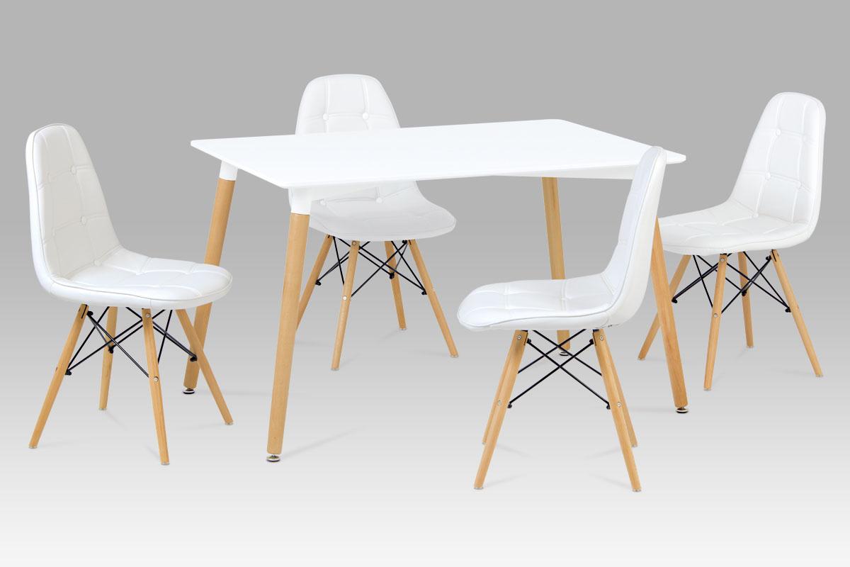 Moderní jídelní židle Ct-720 wt