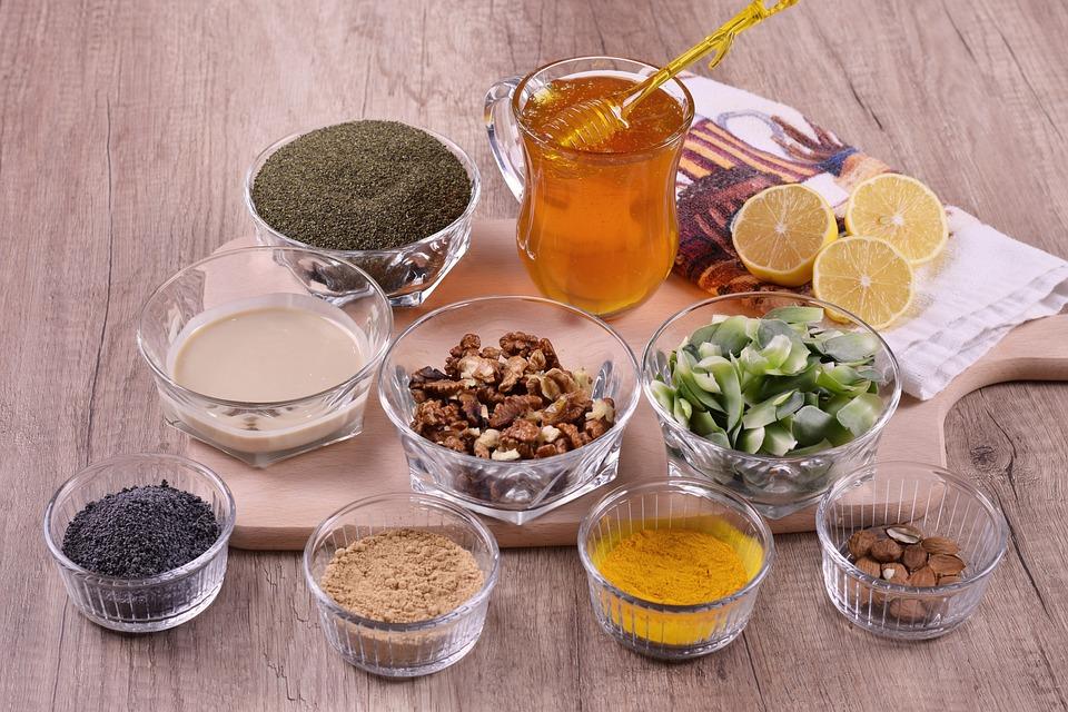 Koření a med