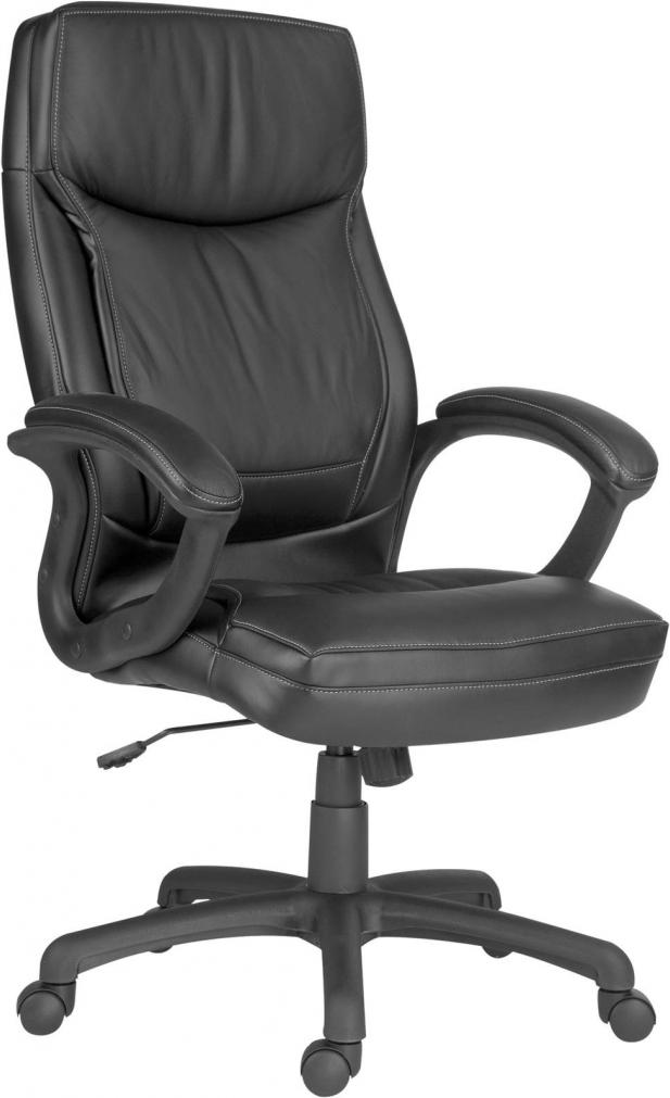 Kancelářská židle Hawai z hovězí a ekologické kůže
