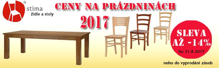 Ceny na prázdninách 2017, ketyban.cz