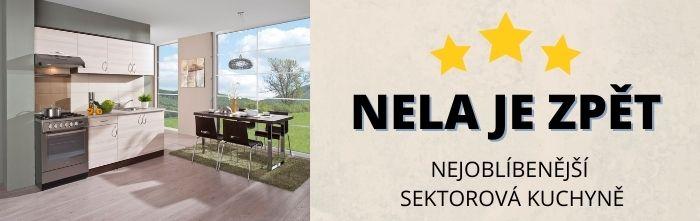 Nejprodávanější a nejoblíbenější kuchyně Nela