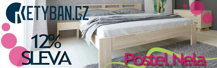 Akční nabídka postelí se slevou 12%