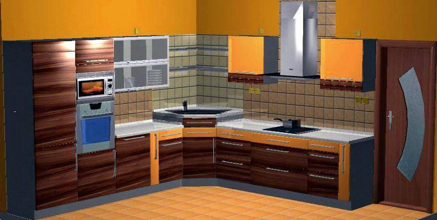 Kuchyně s vybavením