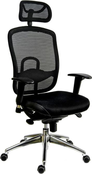 Kancelářská židle Oklahoma pdh v akci