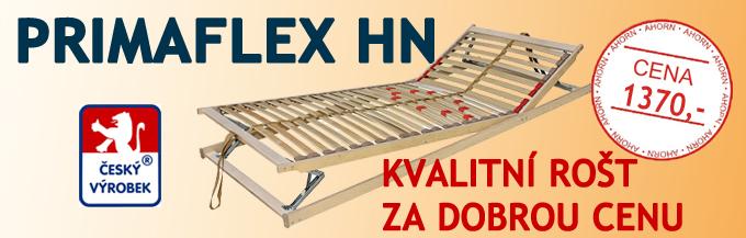 Polohovatelný lamelový rošt Primaflex HN