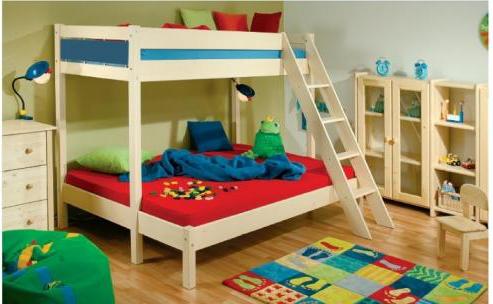 Dětská patrová postel Terry Native
