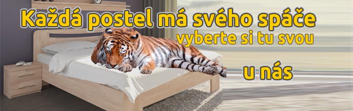 Široká nabídka postelí