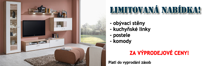 Výprodej nábytku za akční ceny