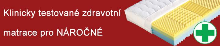 Klinicky testované zdravotní matrace